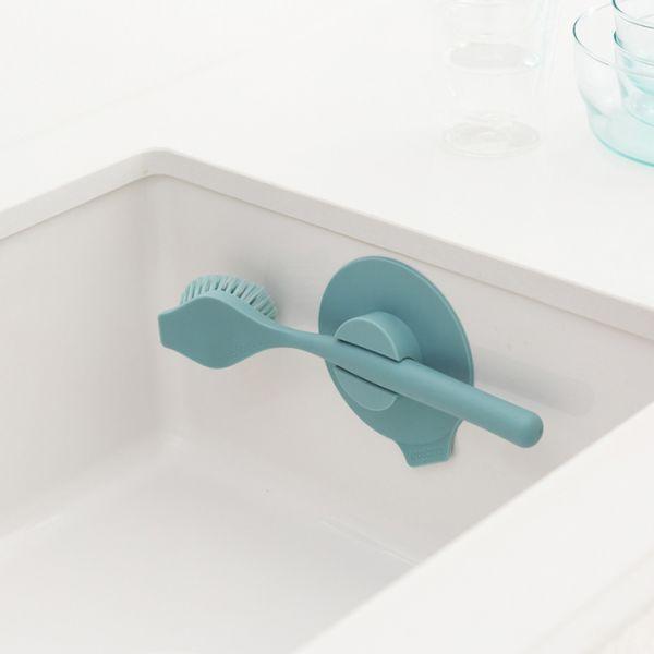Щетка для мытья посуды с держателем на присоске BRABANTIA, 117602