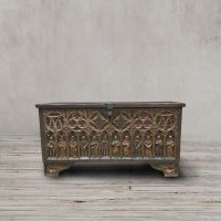 Сундук 1920 год Испания ROOMERS ANTIQUE, AW-GOTHIC TRUNK