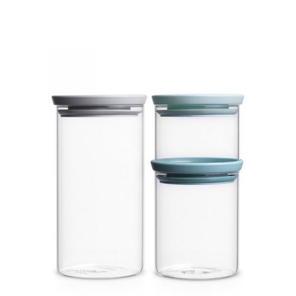 Набор модульных стеклянных банок Brabantia 3 шт 298325