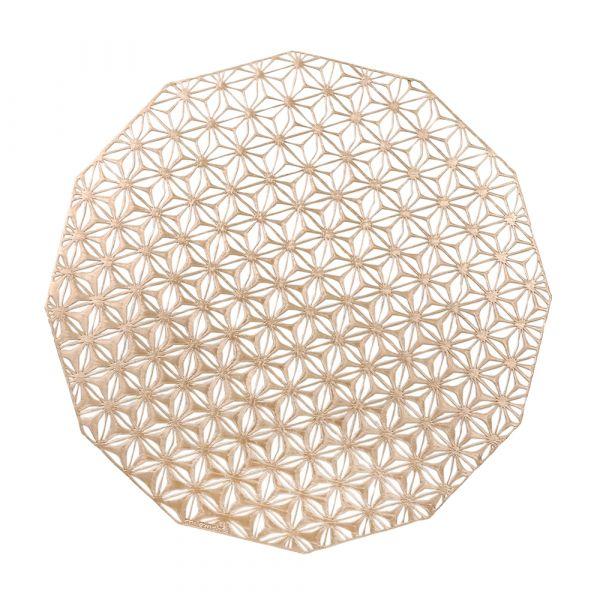 Салфетка Chilewich KALEIDOSCOPE подстановочная материал винил 36 см Pink Champagne 100488-002
