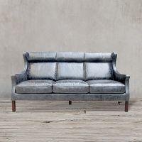 Диван ROOMERS 105x198x96 см цвет серый S0001-3D/grey #67