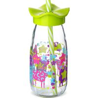 Бутылка для смузи 500 мл салатовая, стекло, Mayer&Boch, 80518-2