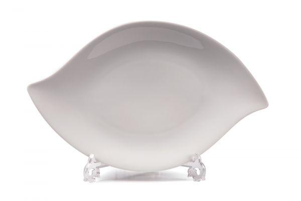 Тарелка овальная 36 см, Tunisie Porcelaine, серия FEUILLE