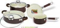 Набор посуды c покрытием Eco-Cera из 6 предметов Vitesse VS-2222