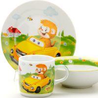 Набор детской посуды Loraine «Машинка» 25602
