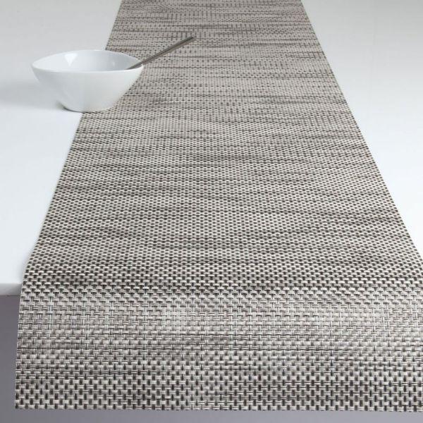 Салфетка Chilewich BASKETWEAVE подстановочная жаккардовое плетение материал винил 36x48 см Oyster 0025-BASK-OYST