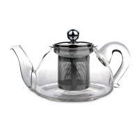 Чайник для кипячения и заваривания, стеклянный с фильтром 0,45 л, серия Kristall, IBILI