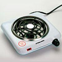 Электрическая плита, комфорка спираль белая, покрытие из эмали 1000Вт Mayer&Boch, 10070-1