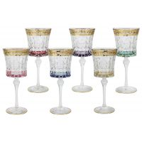 Набор: 6 бокалов для вина Цветная Флоренция, SM3171_678-AL
