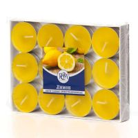 Свечи чайные Лимон 24 шт