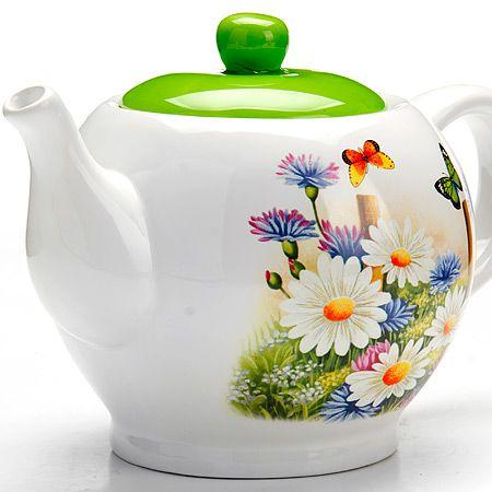Чайник заварочный с крышкой 950 мл  Лето LORAINE, 26296