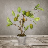 Декоративное растение SILK-KA «Ветка ягодная» 33 см 104149