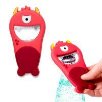 Открывалка Monster красная магнитная 26585 Balvi