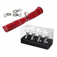 Кольца для салфеток Balvi Diamond 4 шт 22829