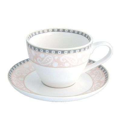 Чайная пара 315 мл/14,5 см, костяной фарфор, Arista Rose, Esprado