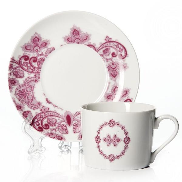 Чайный набор на 6 персон BOUDOIR, объем чашки 250 мл