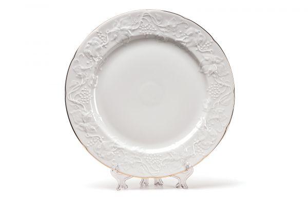 Тарелка обеденная 26 см, La Rose des Sables, серия VENDANGE Filet Or, 690126 1009