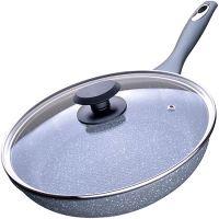 Сковорода с покрытием из мраморной крошки 26 см, с крышкой Mayer&Boch, 23572
