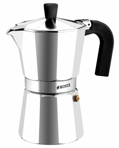 Кофеварка гейзерная на 3 чашки Monix Express