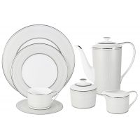 Чайный сервиз Жемчуг 40 предметов на 12 персон, NG-I150905B-40-AL