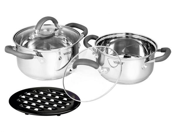 Набор посуды Vitesse Ines 5 предметов VS-2064