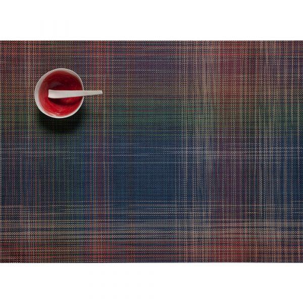 Салфетка подстановочная, винил, 36х48 см, MULTI, серия Plaid, CHILEWICH