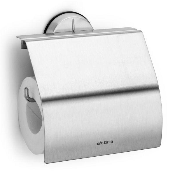 Держатель для туалетной бумаги Brabantia Profile цвет матовый стальной 427626