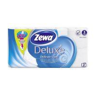Туалетная бумага ЗЕВА 3-х слойная Делюкс Белая