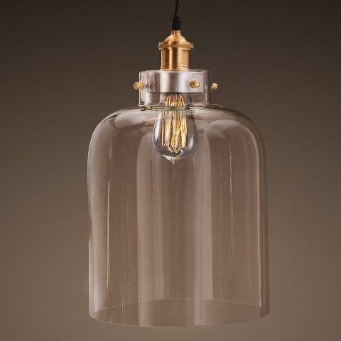 Светильник RESTORATION HARDWARE «Филамен» 43x25x25 см цвет латунь, прозрачный 8130