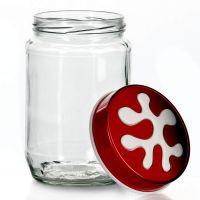Банка для хранения Herevin 720 мл красная 135367-001