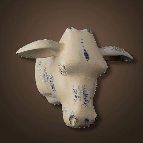 Декор ROOMERS «Голова быка» 32x26x22 см 4094-C