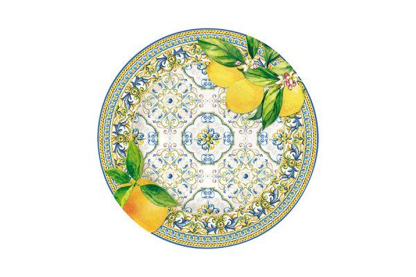 Тарелка закусочная Капри (цитрус) без индивидуальной упаковки, EL-R0944_CAPL
