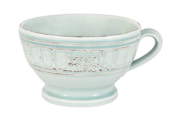 Чашка для завтрака, суповая чашка Venice (голубая) без индивидуальной упаковки, MC-F488401350D0053