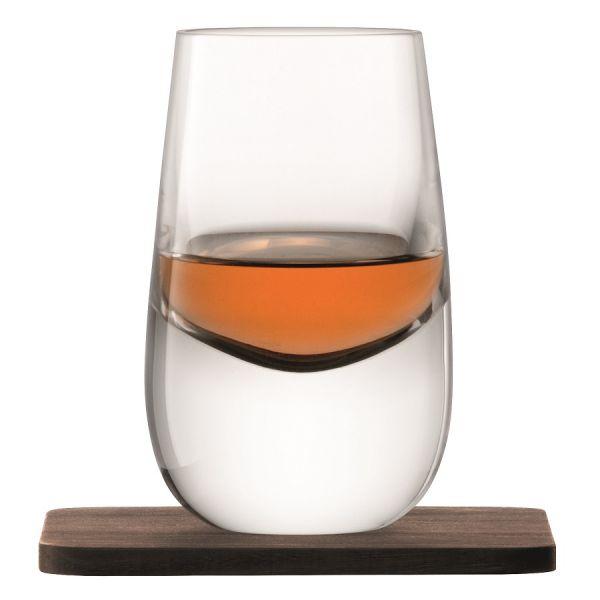 Набор из 2 шотов на подставках whisky 80 мл G1213-03-301