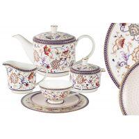 Чайный сервиз Королева Анна 21 предмет на 6 персон, AL-M1929_21-E9