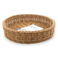 Корзина круглая d 22 см, h 5 см, цвет бежевый, серия Saleen, Westmark