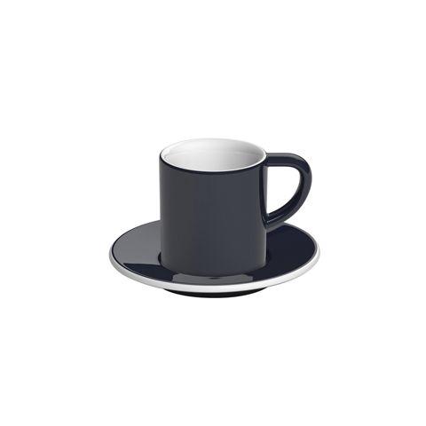 Кофейная пара LOVERAMICS 80 мл цвет тёмно-синий C098-34BDE/C098-35BDE