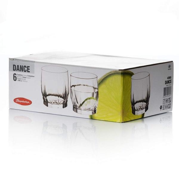 Набор стаканов DANCE 6 шт. 290 мл (вода)