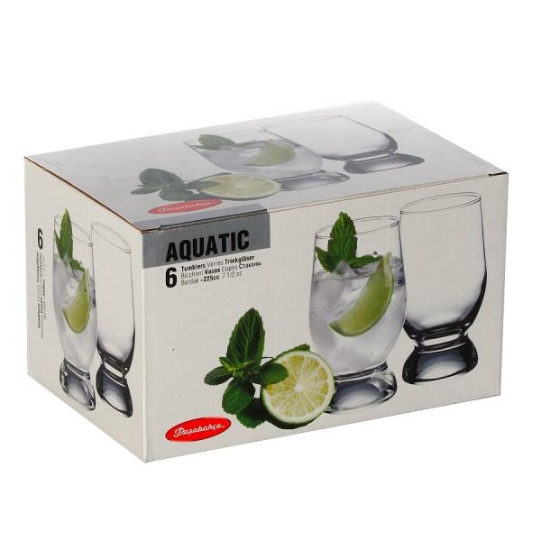 Набор стаканов AQUATIC 6 шт. 225 мл