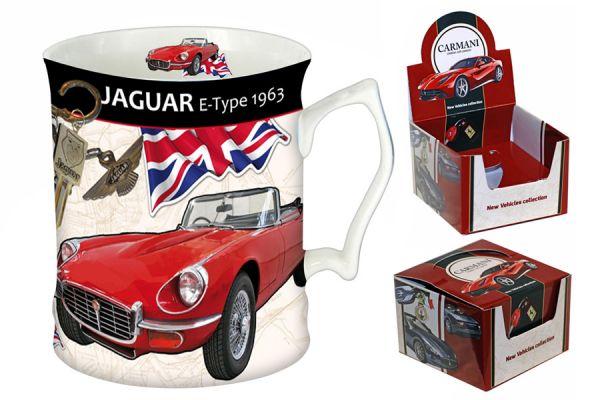 Кружка Ягуар E-type 1963 г, CAR2-016-7101