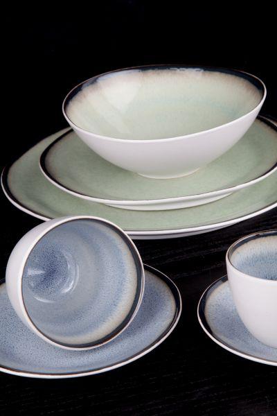 Тарелка для супа, 18 см (Каменная керамика) Fez green, COSY&TRENDY 9212167