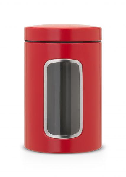 Контейнер Brabantia для сыпучих продуктов с окном 1,4 л 484063