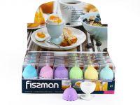 Подставка для яйца FISSMAN 5 см с силиконовой крышкой 7517