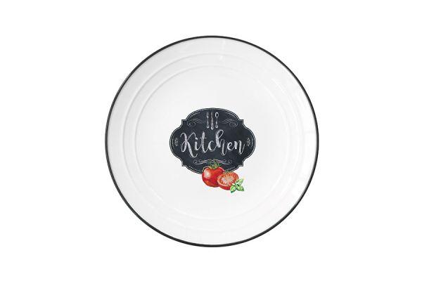 Тарелка Кухня в стиле Ретро, малая, без индивидуальной упаковки, EL-R1622_KIBK