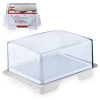 Маслёнка пластик, 14х9,5х7,6 см, серия Plastic tableware, WESTMARK