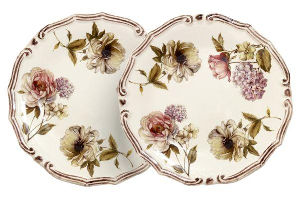 Набор из 2-х десертных тарелок Сады Флоренции, LCS053PF-BO-AL
