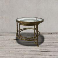 Стол приставной ROOMERS 44x55x55 см цвет матовый золотой Z0172/Z0172A 31#A