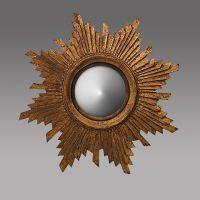 Зеркало ROOMERS 55x55x5 см MM-201