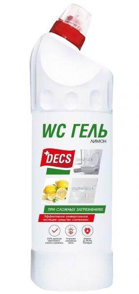 Средство DECS WC гель Лимон 750 мл