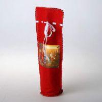 Подарочная сумка для бутылки в асс.